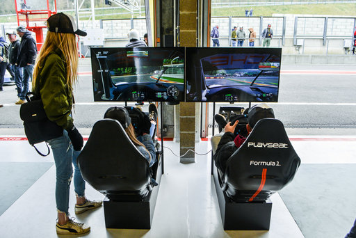 Simulateur de course | Spa Francorchamps I Porsche Club Days