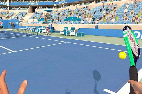 Tennis VR I Animation Réalité Virtuelle I Belgique Suisse France Luxembourg