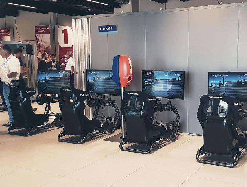 Location simulateur de course I Rexel