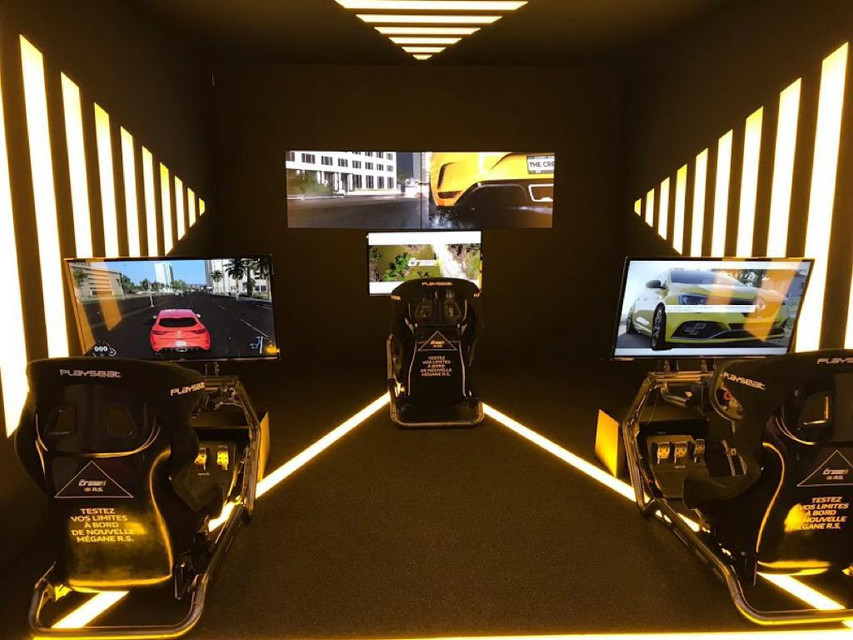 Location simulateur de course I Mondial de l'automobile Paris