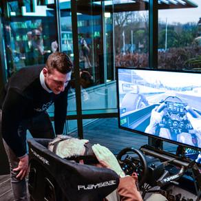 Simulateur de course en Realité virtuelle - cercle du lac
