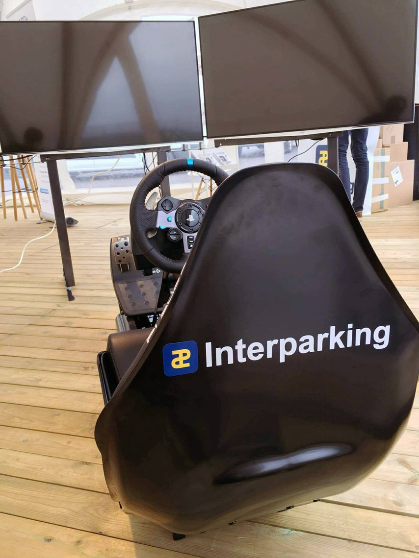 Location simulateur de course Gold I Interparking