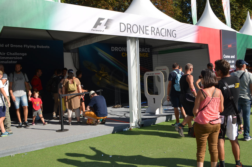 Animation drone - Monza