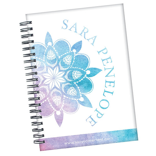 Purple Mandala - Personalised Journal