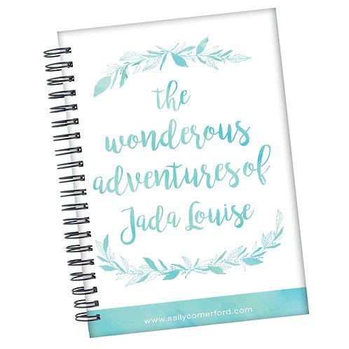 Wonderous Adventures - Personalised Journal