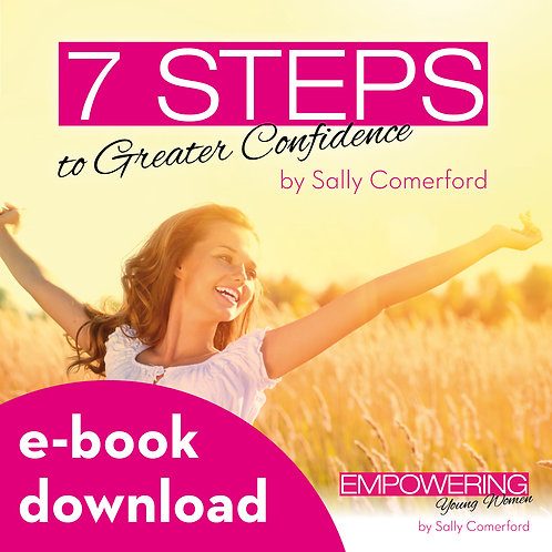 7 Steps to Greater Confidence *work e-book*