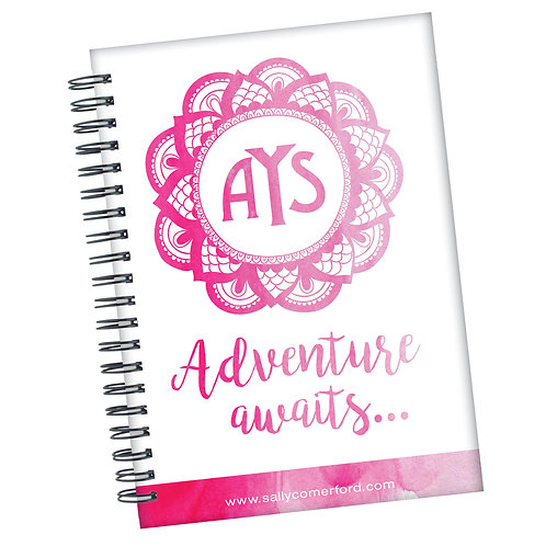 Adventure Awaits - Personalised Journal