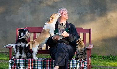 Senior with 3 animals.jpg