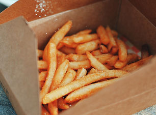 French Fries i dream of pizza
