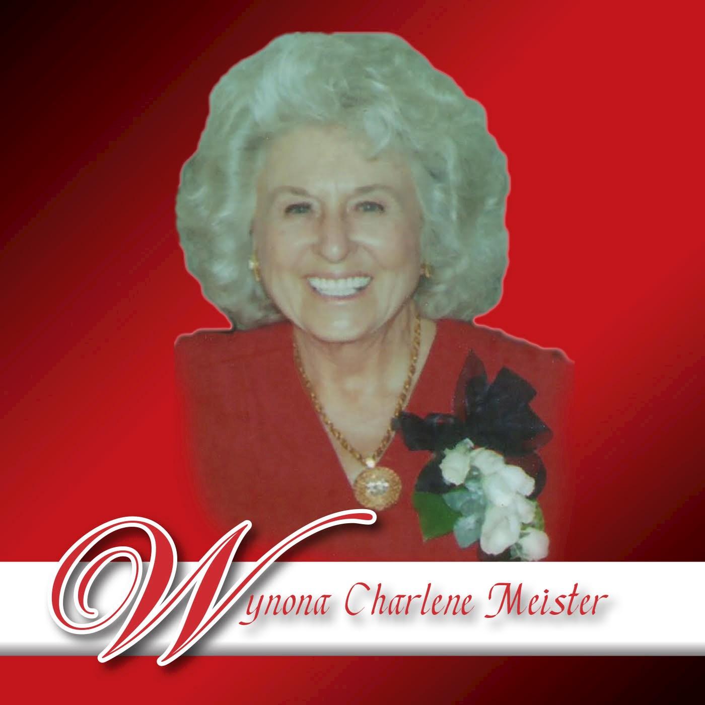 """Wynona Charlene Meister"""