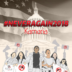 """#NeverAgain 2018"" by Kamaria Tilley"