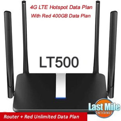 Router + Red Unlimited  4G LTE Wireless Data Plan