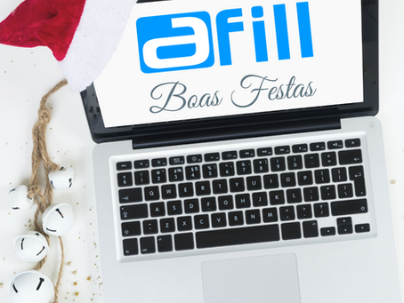 aFill Inovação deseja a todos Boas Festas!