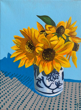 Labor Day Sunflowers