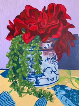 Blue Danube Vase #1