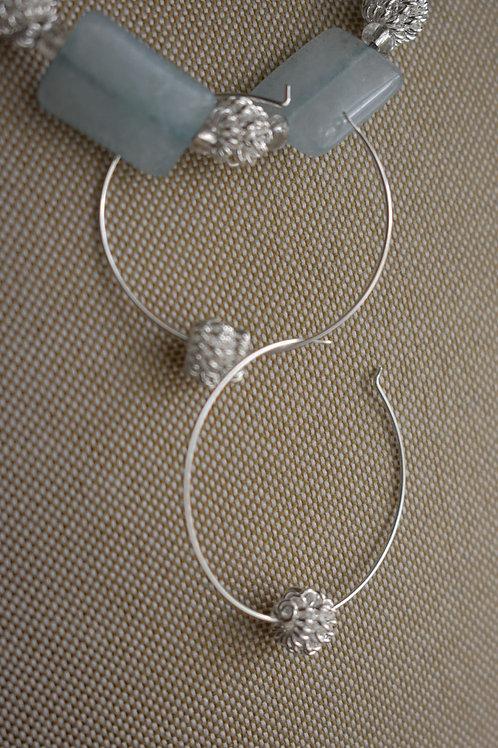 sterling hoops & knots