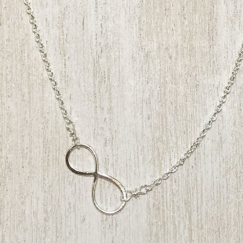 sterling silver infinity