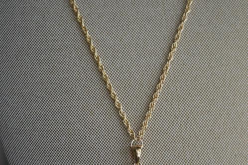tiger eye jasper pendant