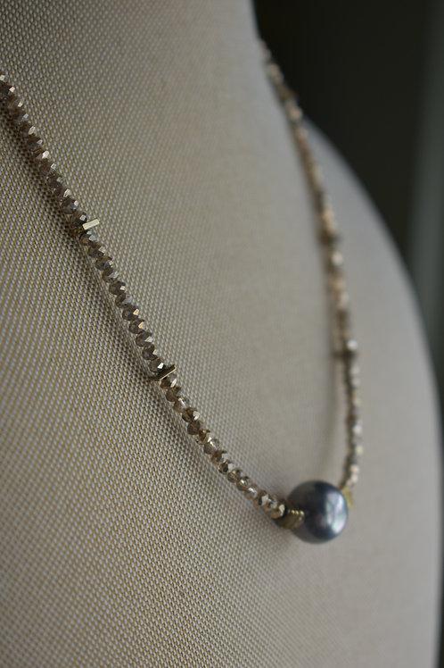 black pearl and hemitite thins