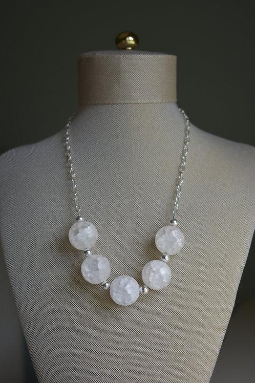 white crackle quartz