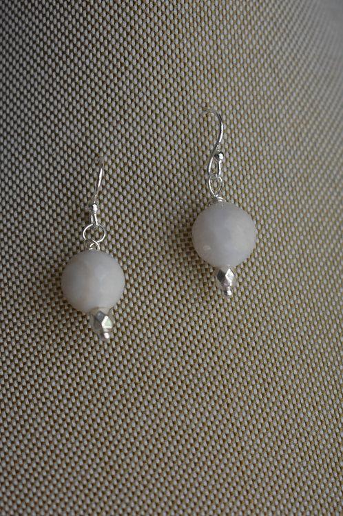 white agate drops