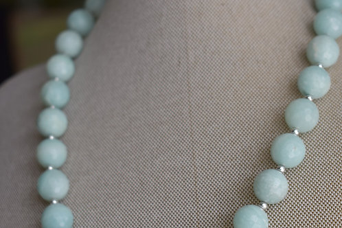 soft blue jade and silver