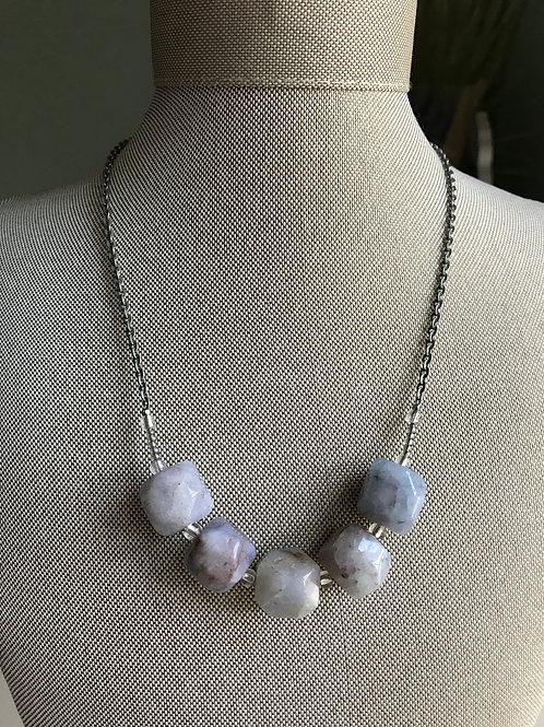 blue grey agate