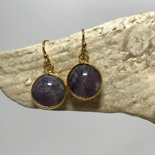 purple quartz drops
