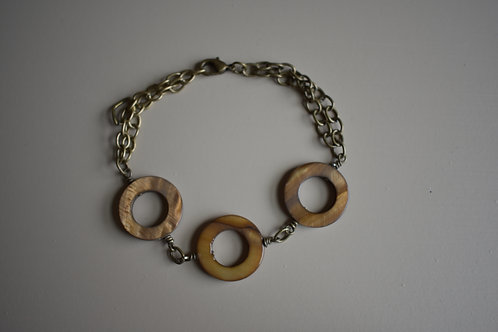 amber hoops