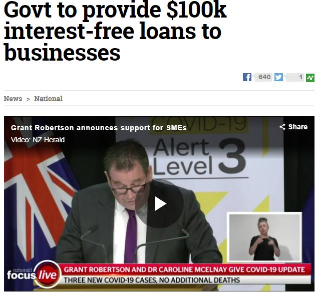 Govt SME relief