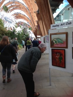 Heeley Art Club Winter Gardens exhibition Oct 2017-Photo Panni Loh