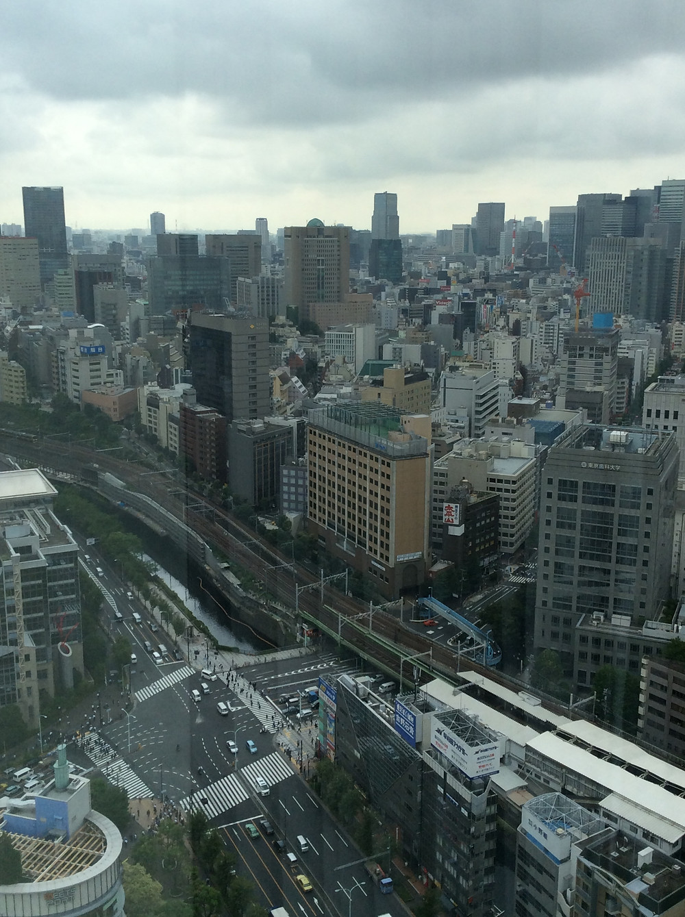Tokyo Dome Hotel view of Tokyo