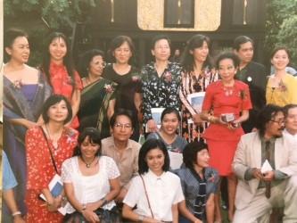 1999 Artist group with Princess Marsi Parbartra