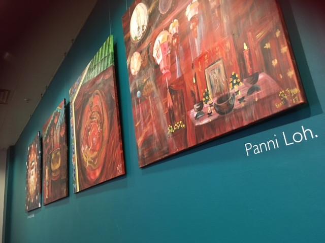 Panni Loh Exhibition in John Lewis, Sheffield