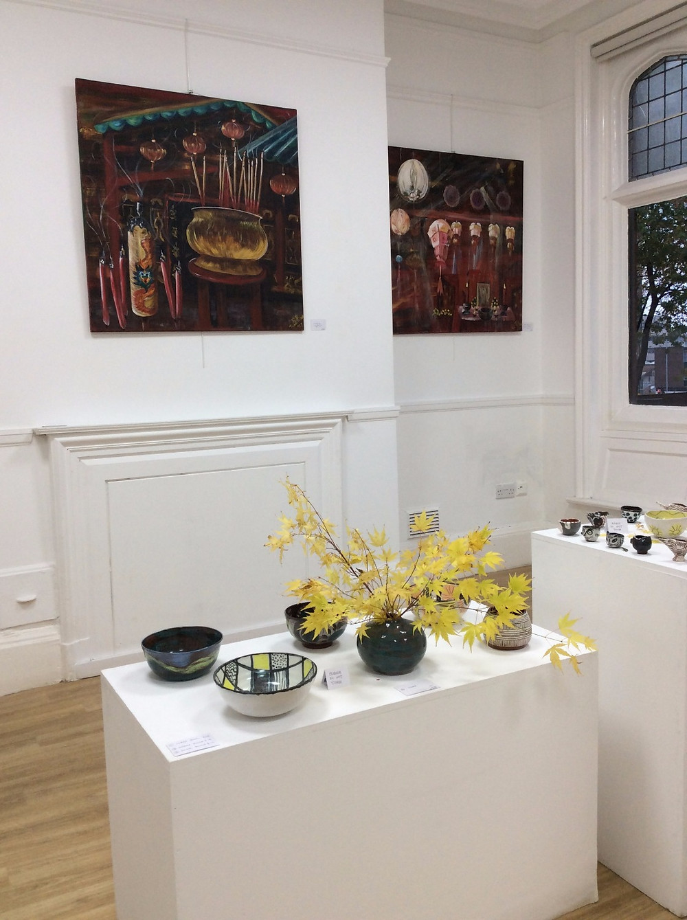 7 women create exhibition Art House Sheffield