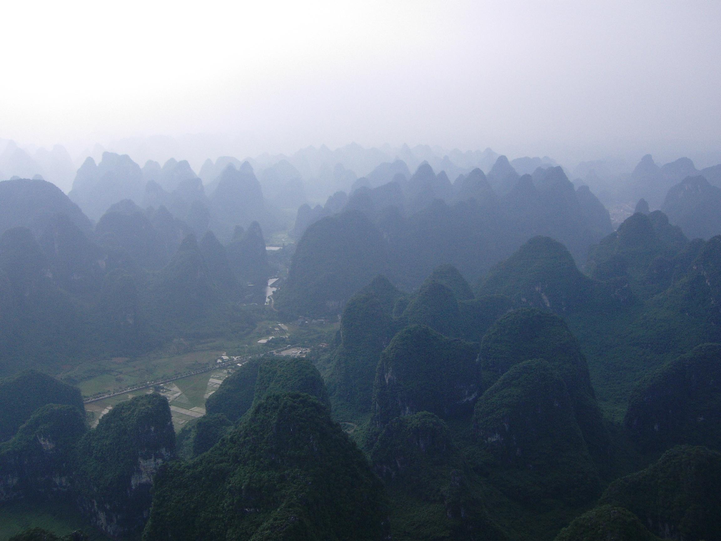 Karst Mountains Yangshou