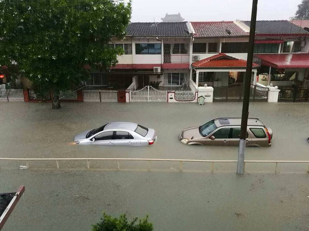 Penang Floods September 2017