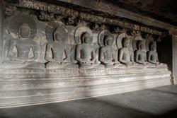 Seven reincarnations of Buddha