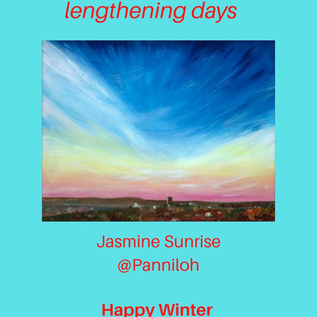 Scintillating Solstice skies