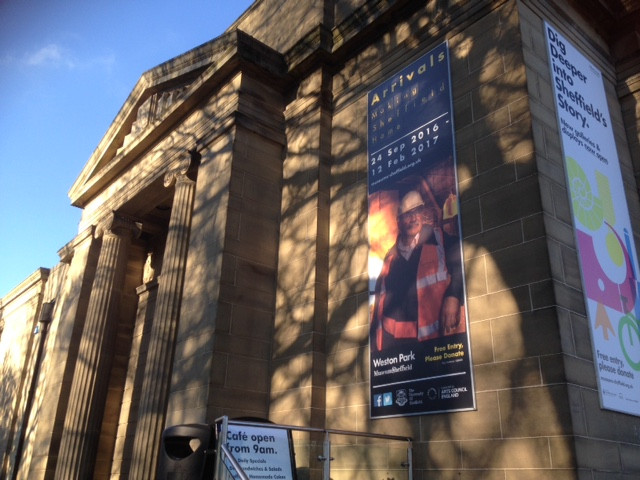 Arrivals exhibition at Weston Park Museum
