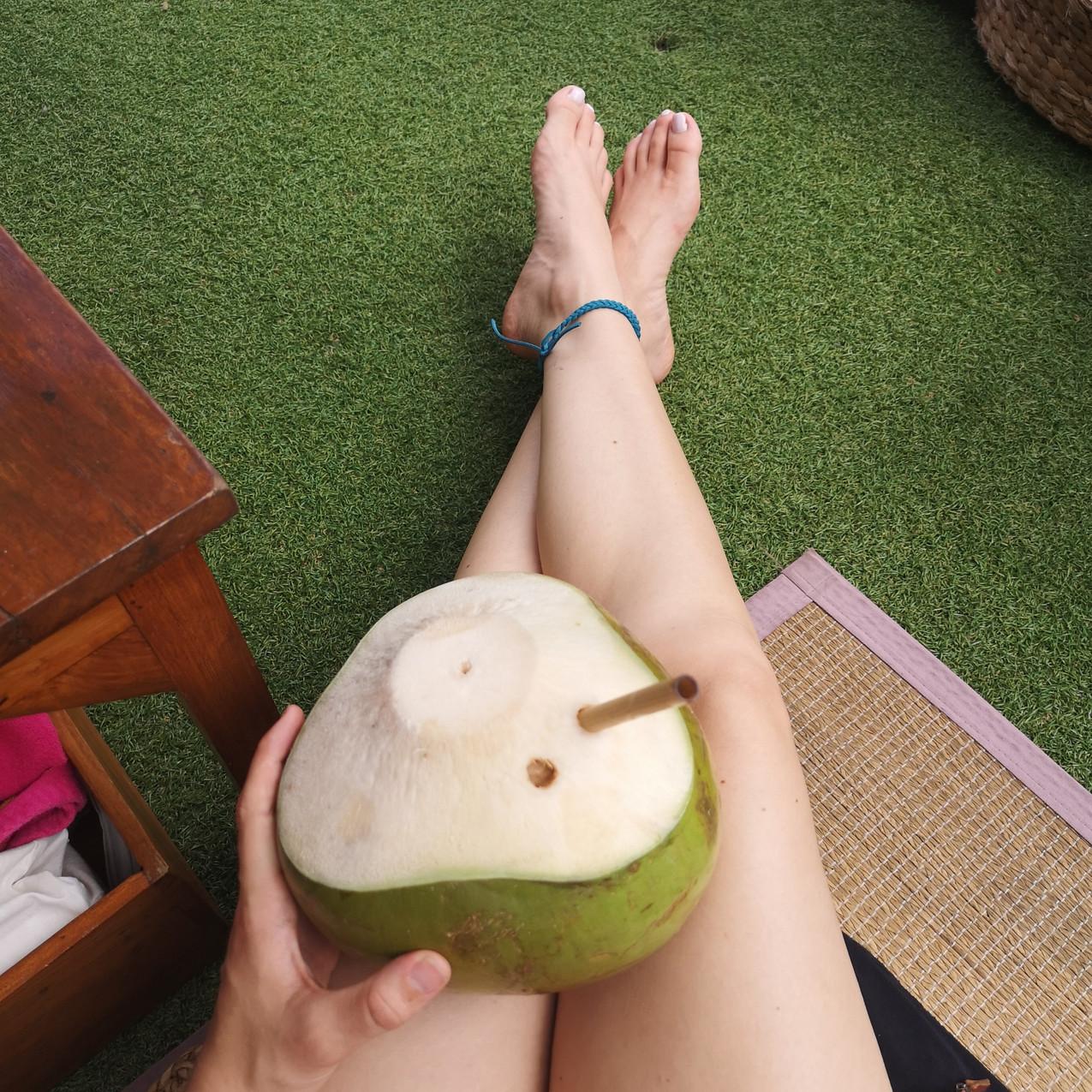 Coconuts at The Lawn, Canggu, Bali