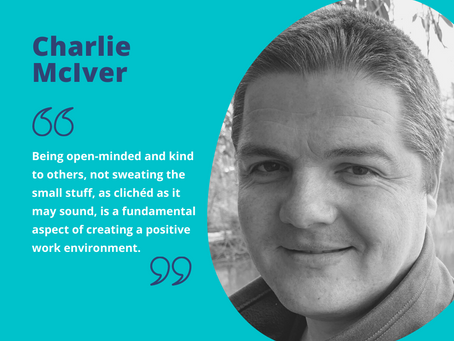 Managing workplace stress: interview with Charlie McIver