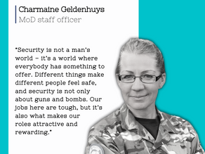 Celebrating our Armed Forces and their families - Charmaine Geldenhuys