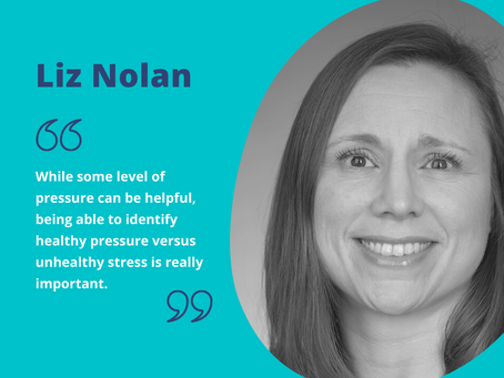 Managing workplace stress: interview with Liz Nolan