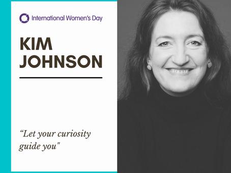 Celebrating Inspirational Women: Kim Johnson