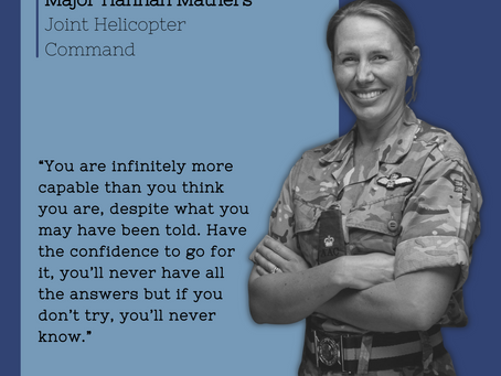 Celebrating our Armed Forces and their families - Hannah Mathers