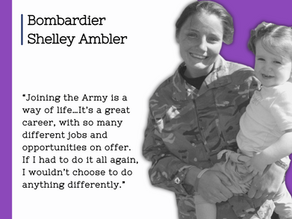 Celebrating our Armed Forces and their families - Shelley Ambler