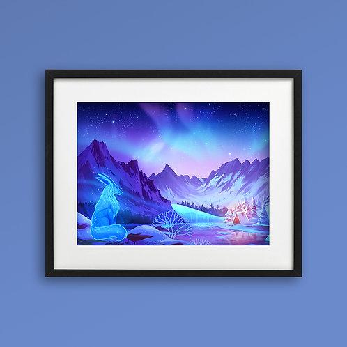 Print - Winter Night