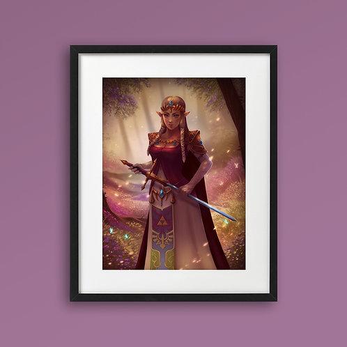 Print - Princess Zelda