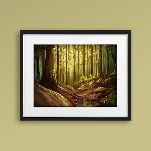 Print - Forest